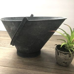Metal Garden container/decoration